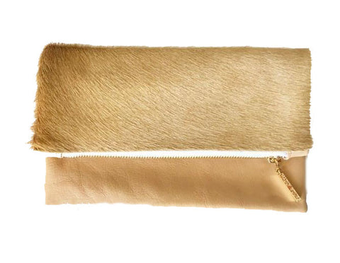 Madly Yours Vannah Clutch in Nude - Gabrielle's Biloxi