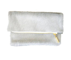 Madly Yours Valorie Clutch Grey - Gabrielle's Biloxi