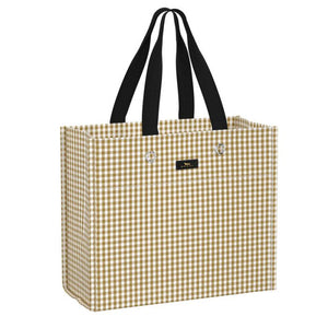 Scout Large Package Gift Bag in Cruz Checkham - Gabrielle's Biloxi