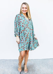 Floral Print Dress - Gabrielle's Biloxi