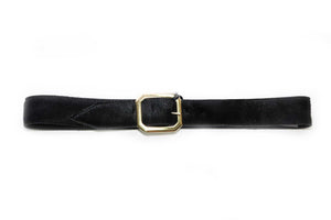 Black Wide JJ Winters Belt - Gabrielle's Biloxi
