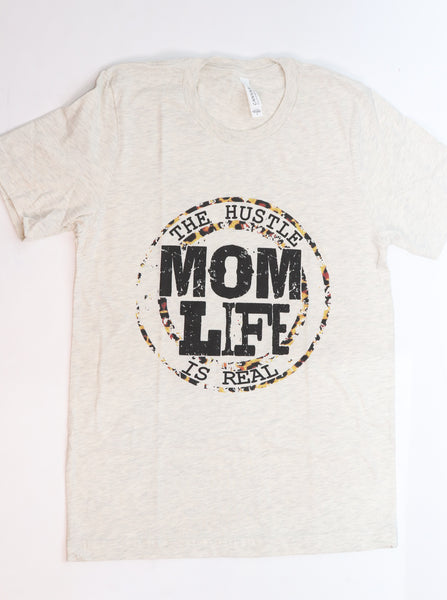 The Mom Life Crew-Neck Tee - Gabrielle's Biloxi