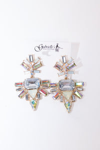 Bold Jeweled Earrings - Gabrielle's Biloxi