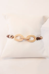 Love, Poppy Wood Linked Bracelet - Gabrielle's Biloxi