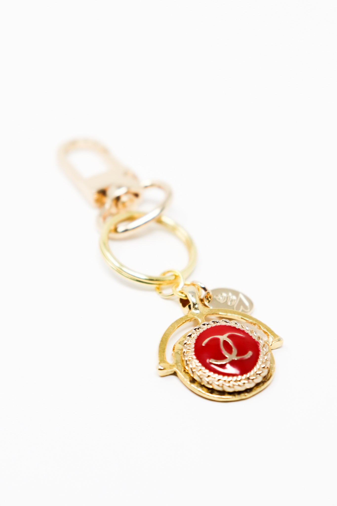 Chanel Designer Red Keepsake Key Chain - Gabrielle's Biloxi