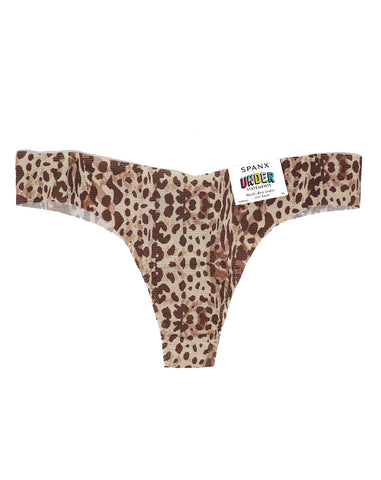 Spanx Neutral Leopard Under-Statements Thong - Gabrielle's Biloxi