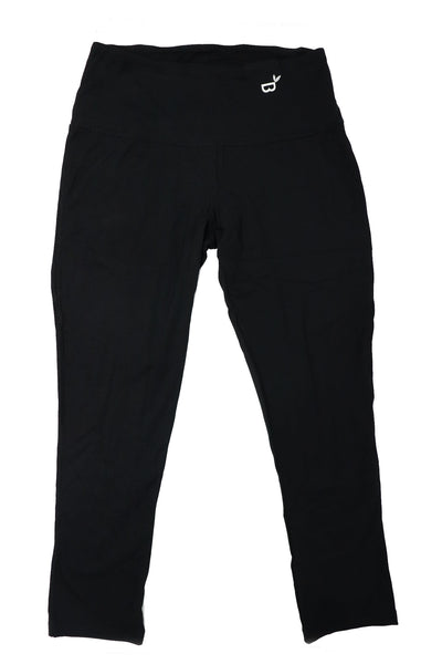 Boody Black 3/4 Active Leggings - Gabrielle's Biloxi