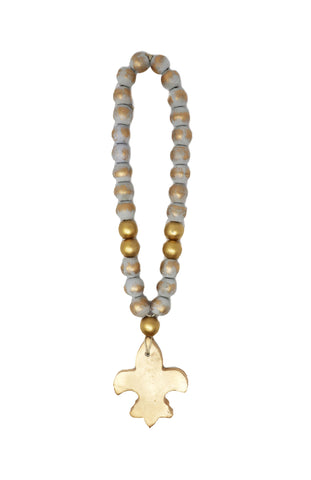 Medium Fleur De Lis Blessing Beads - Gabrielle's Biloxi