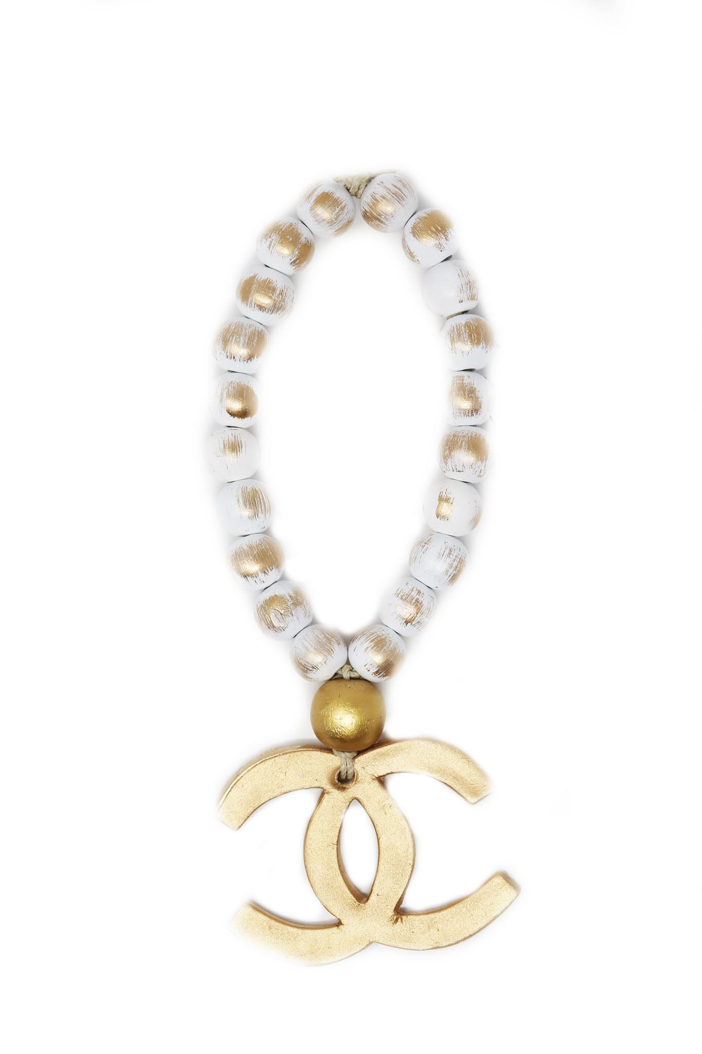 Petite Golden Chanel Blessing Beads - Gabrielle's Biloxi