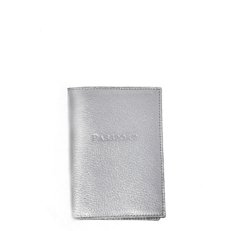 Gigi New York Silver Passport Cover - Gabrielle's Biloxi