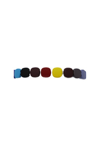 Square Multi Colorful Stretchy Bracelets - Gabrielle's Biloxi