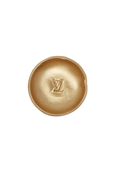 Louis Vuitton Gold Jewelry Dish - Gabrielle's Biloxi