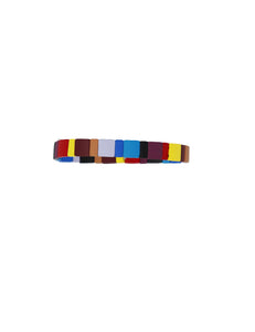 Vibrant Multi Color Stretchy Bracelet - Gabrielle's Biloxi