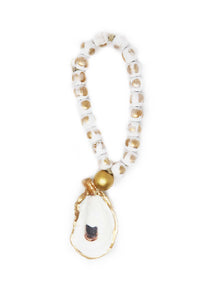 Petite Oyster Shell Blessing Beads - Gabrielle's Biloxi