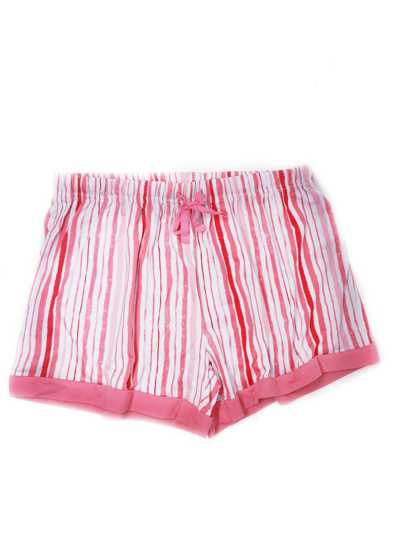 Sweet Pink Stripes Sleep Shorts - Gabrielle's Biloxi