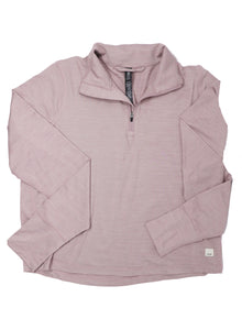 Vuori Women's Crescent 1/2 Zip Dusk Heather - Gabrielle's Biloxi