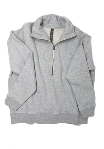 Vuori Women's Restore 1/2 Zip  Light Heather Grey
