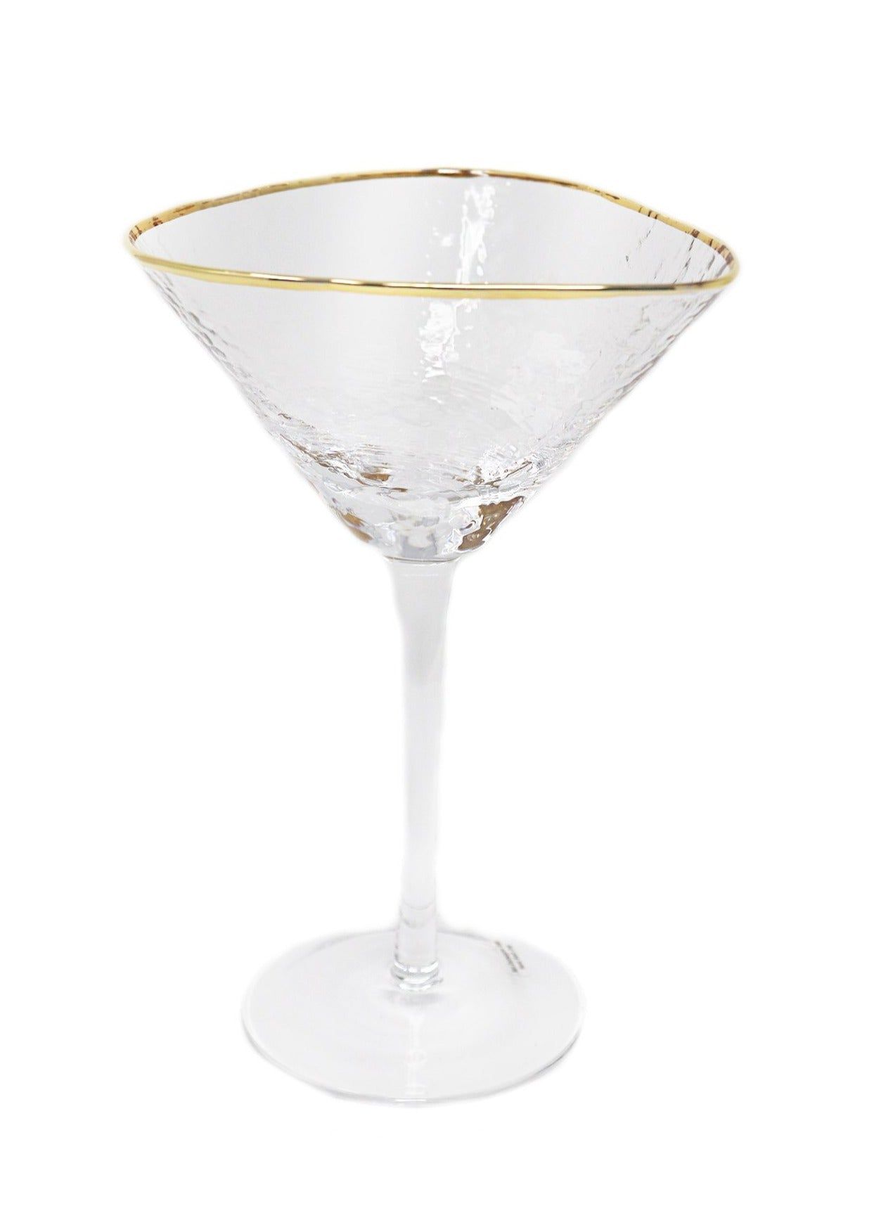 Aperitivo Triangular Martini Glass - Gabrielle's Biloxi