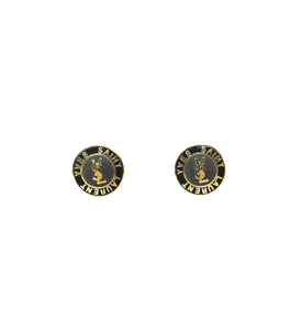 YSL Button Earrings - Gabrielle's Biloxi