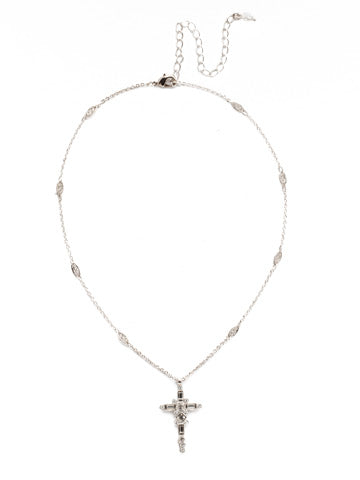 Sorrelli Delicate Sliding Cross Pendant Necklace - Gabrielle's Biloxi