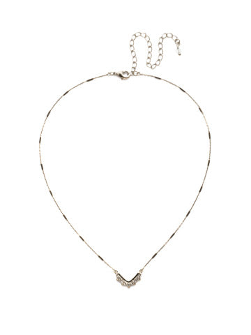 Sorrelli Jagged Chevron Necklace - Gabrielle's Biloxi