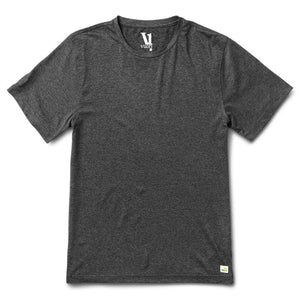 Vuori Men's Strato Tee Charcoal Heather - Gabrielle's Biloxi