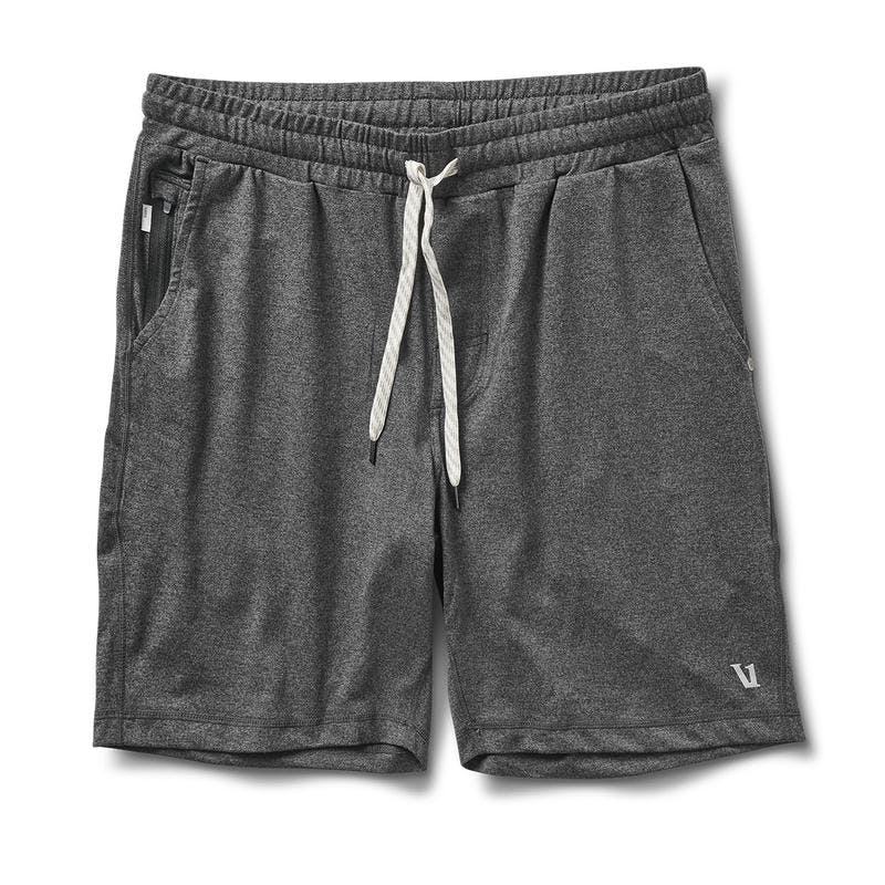 Vuori Men's Ponto Short Charcoal Heather - Gabrielle's Biloxi
