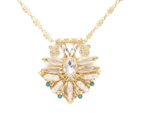 Sorrelli Amalia Bright Gold Necklace - Gabrielle's Biloxi