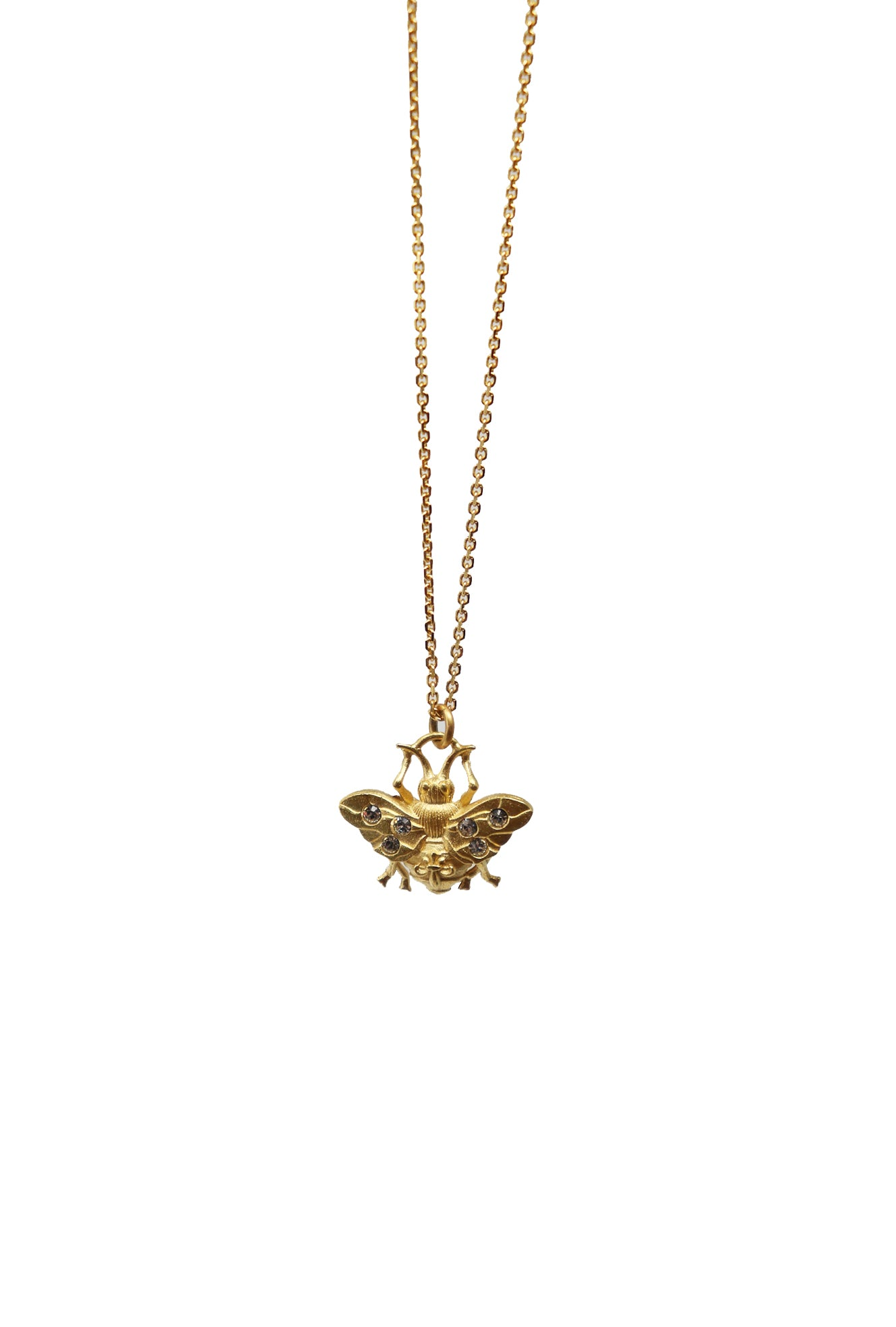 French Kande Gold Bee Necklace - Gabrielle's Biloxi