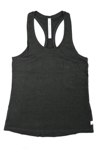 Vuori Women's Lux Performance Tank Charcoal Heather - Gabrielle's Biloxi