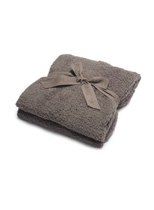 Barefoot Dreams CozyChic Travel Shawl Charcoal