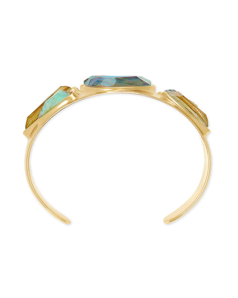 Kendra Scott Margot Statement Bracelet Sea Green - Gabrielle's Biloxi