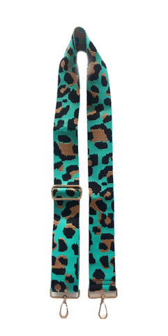 Leopard Animal Print Bag Straps Bright - Gabrielle's Biloxi