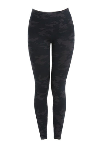 Spanx  Look at Me Now Seamless Leggings Black Camo - Gabrielle's Biloxi