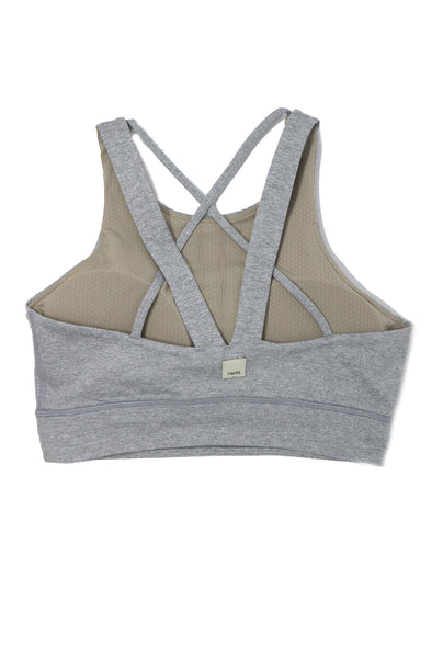 Vuori Women's Juno Bra Light Heather Grey - Gabrielle's Biloxi