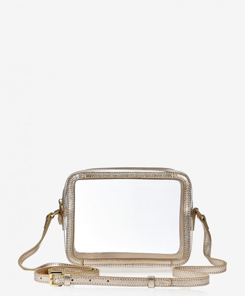 Gigi New York Gold Collins Crossbody - Gabrielle's Biloxi