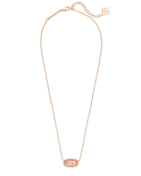 Kendra Scott Elisa Necklace in Blush Wood - Gabrielle's Biloxi