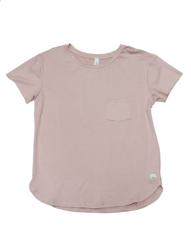 Vuori Lux Performance Tee Shell Heather - Gabrielle's Biloxi