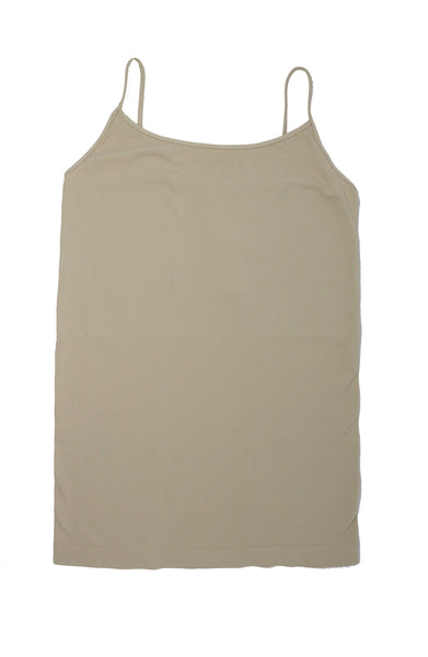 Basic Long Tank Cami  -  Assorted Colors - Gabrielle's Biloxi