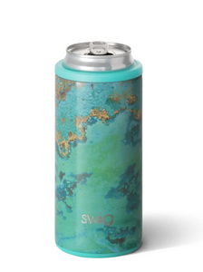 Swig 12oz Skinny Can Cooler Copper Patina - Gabrielle's Biloxi