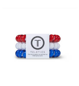 Teleties - Large in Red, White & Blue