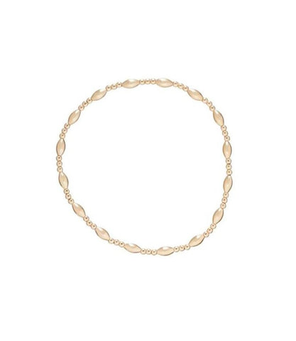 Enewton Harmony Sincerity Pattern 2mm Bead Bracelet Gold - Gabrielle's Biloxi