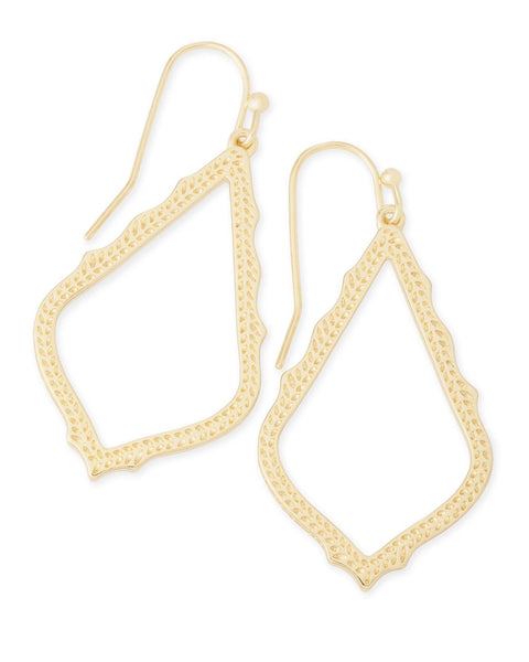 Kendra Scott Sophia Earrings in Gold - Gabrielle's Biloxi
