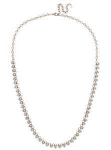 Sorrelli Petite Round Crystal Long Necklace - Gabrielle's Biloxi