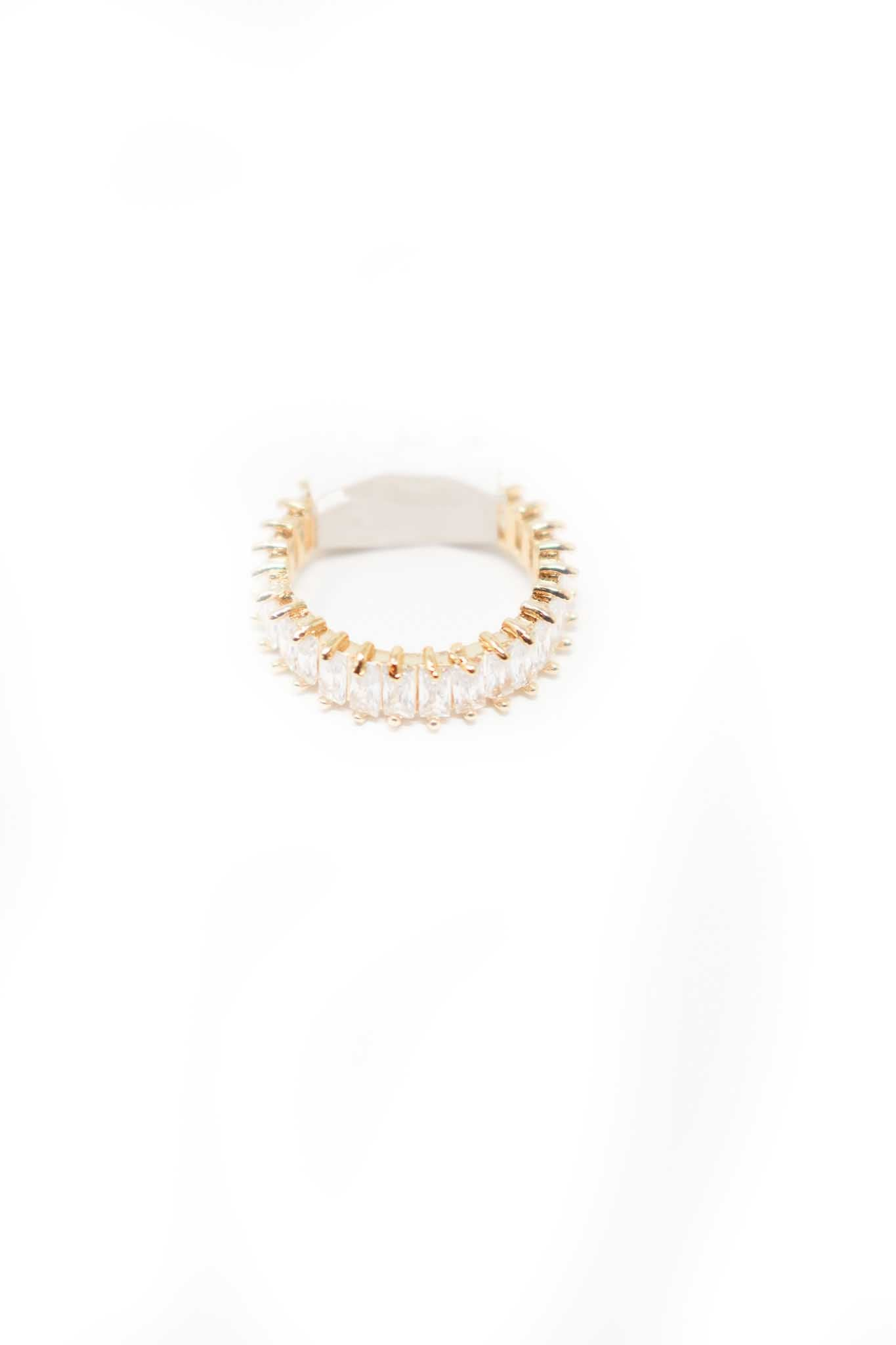 Crystal Gold Ring - Gabrielle's Biloxi