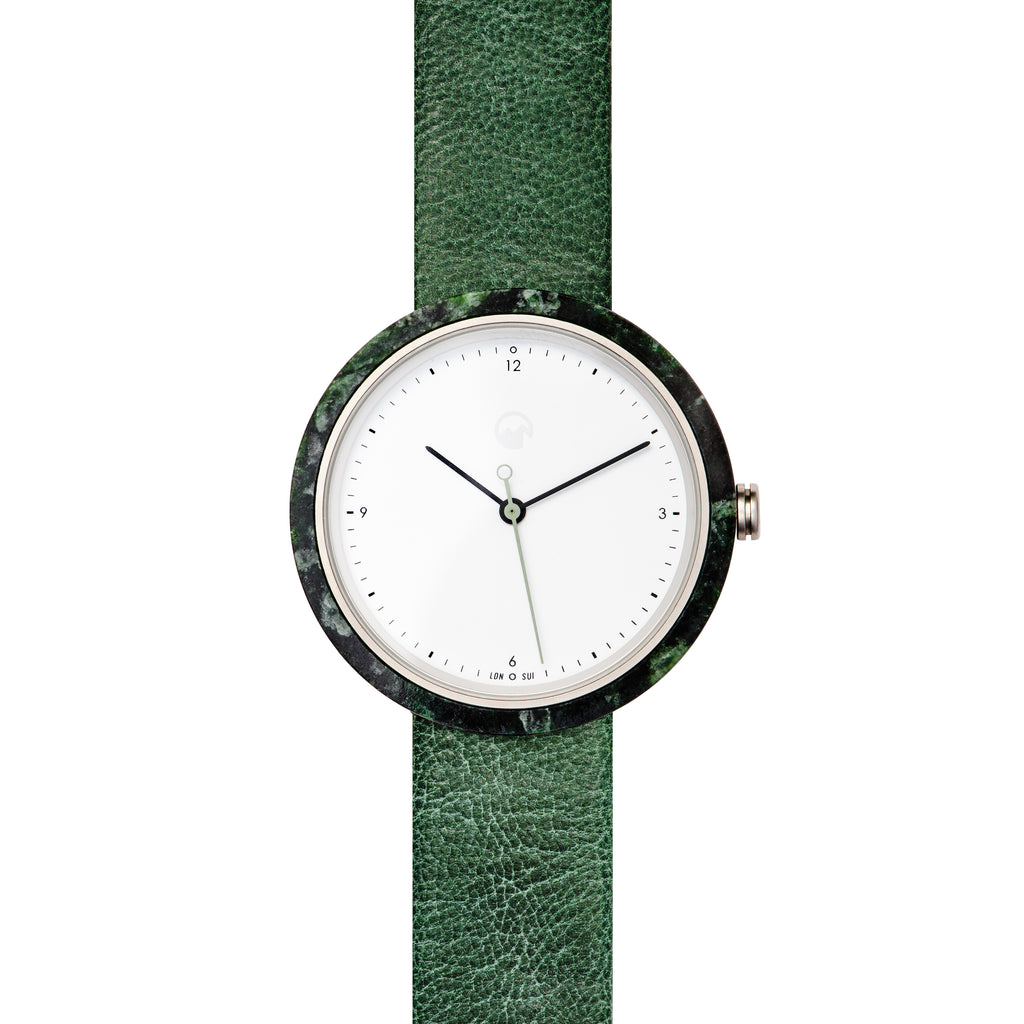 shop for series relish watch watches men style denim analog green
