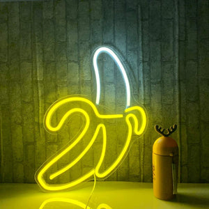 LED Neon Banana Sign