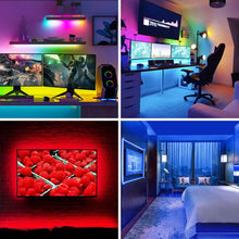 Smart LED Strip Lighting - Remote Controlled - 5 meters - Alexa Compatible