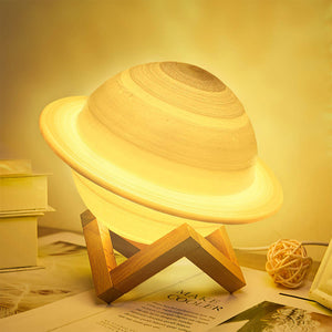 LED Saturn Lamp, 16 Color Remote Controlled 13cm