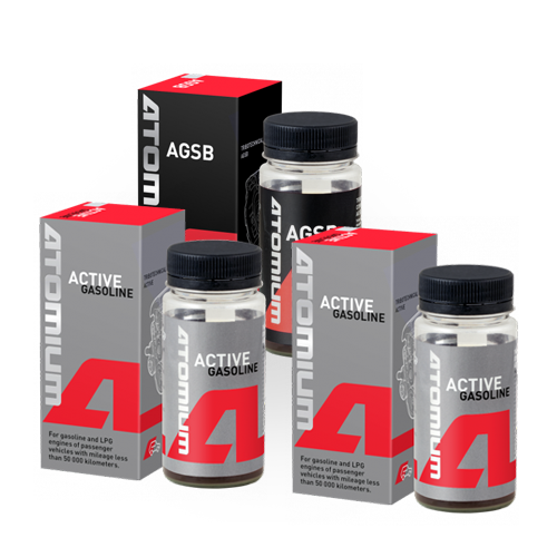 ACTIVE GASOLINE x 2 + AGSB